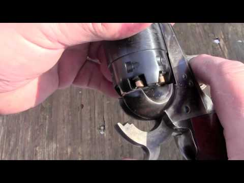 Shooting 44 caliber 1851 Navy Revolvers.mov