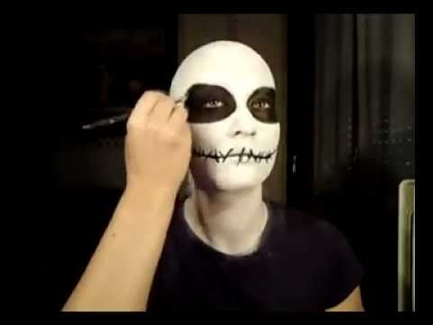 Nightmare Before Christmas: Jack Skeleton inspired turorial