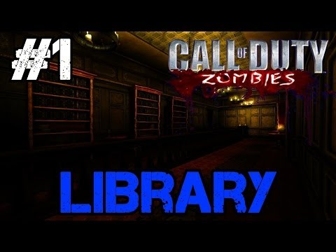 Zombie Library Ep.1 - Call of Duty Custom Zombies (CoD Zombies) - World at War [PC HD]