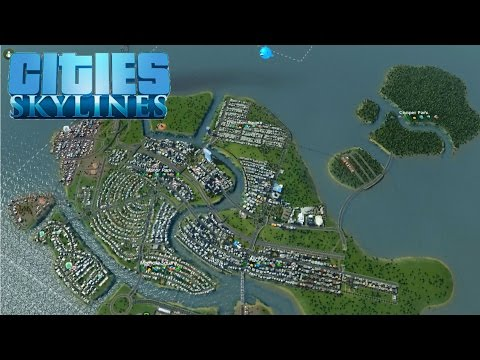 Cities: Skylines #14, Mining Island