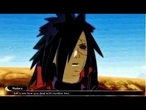 Madara Uchiha vs Five Kages : Naruto Shippuden Ultimate Ninja Storm 3