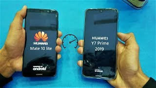 Huawei Y7 Prime (2019) vs Huawei Mate 10 Lite - Speed Test - (HD)