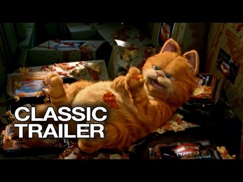 Garfield (2004) Official Trailer # 1 - Bill Murray HD