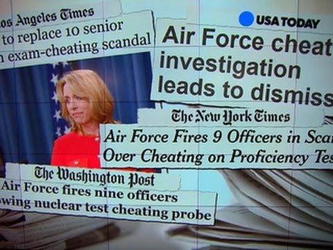 Air Force cheating scandal: Nine officers fired at nuclear missile base