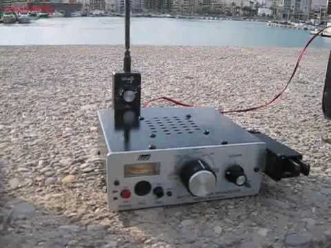 QSO EA5BLP with EM50KFF in Ukraine using miracle whip antenna QRP