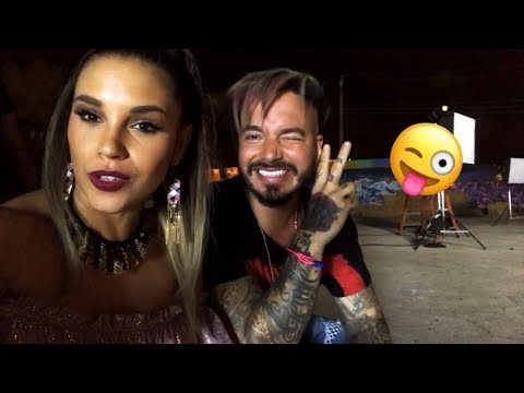 Mi Gente - J Balvin, Willy William | Behind The Scenes con Magga Braco | Magga Braco