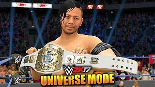 WWE 2K17 UNIVERSE MODE #61 'NEW INTERCONTINENTAL CHAMPION!' (WWE 2K17 Gameplay)