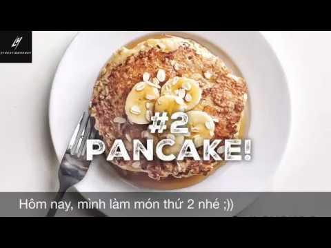Chế biến yến mạch CỰC NGON trong 2 phút: Bánh Pancake.