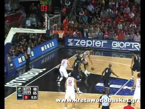 Turkey vs USA 64-81 Final Highlights awards World Championship 2010 Men Basketball Turkey FIBA