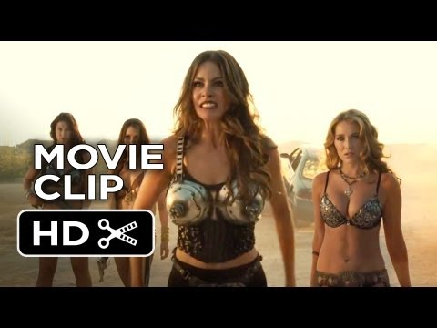Machete Kills Movie CLIP - Car Chase (2013) - Danny Trejo Movie HD