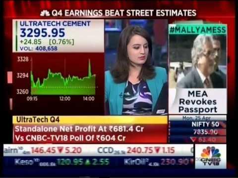 CNBC NSE Closing Bell,  25 April 2016 - Mr. Siddharth Purohit, Angel Broking