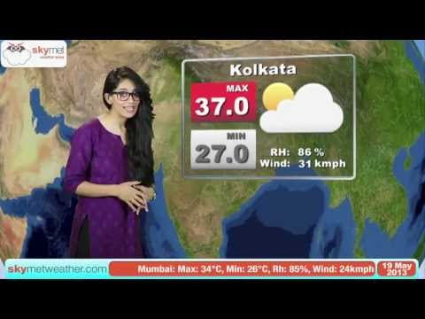 May 19, 2013 - Skymet Weather Report for India