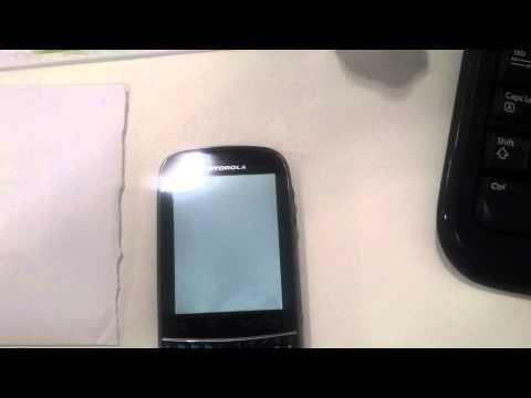 Defeito Motorola XT 317 Fire (ii)
