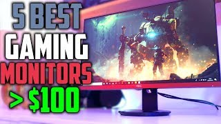 Top 5 Gaming Monitors Under $150 | Best Budget Gaming Monitors