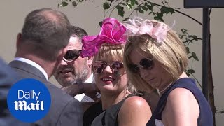 Racegoers show colourful fashion for Ladies' Day at Royal Ascot