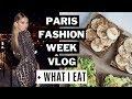 Paris Fashion Week + What I Eat // Romee Strijd VLOG
