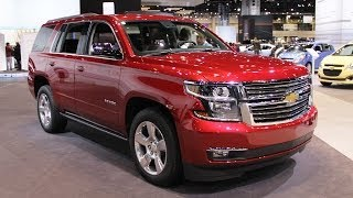 2015 Chevrolet Tahoe - new full-size SUV
