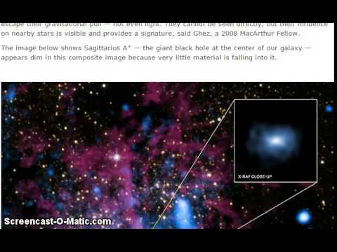 Milky Way's Supermassive Black Hole Reveals Identity of Strange Object at Center of Our Galaxy