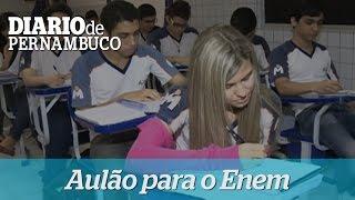 Col�gio Motivo e Diario de Pernambuco promovem aul�o para Enem