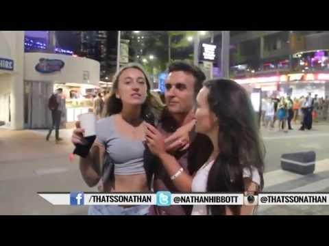 Grabbing Girls BOOBS - Playing With TITS & Kissing DRUNK Girls Strangers