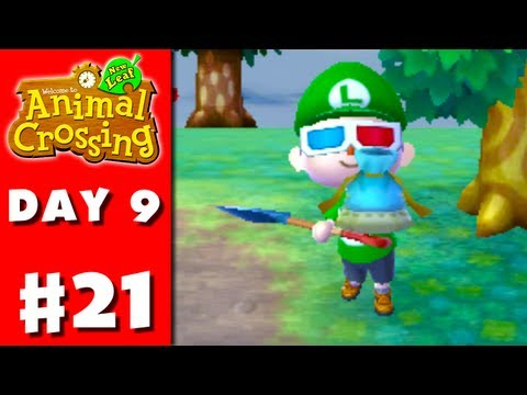 Animal Crossing: New Leaf - Part 21 - Lost Pouch (Nintendo 3DS Gameplay Walkthrough Day 9)