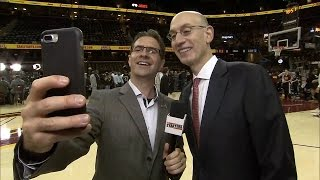 Commissioner Adam Silver Interview