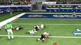Madden 25 :: XBOX ONE Gameplay :: SEXIEST INT of ALL-TIME-Jets Vs.Bengals-Online Gameplay XboxOne