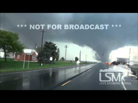 6/16/14 Pilger, NE; Full Tornado Coverage Plus Damage 28min *Erik Fox / Jeff Shardell HD*