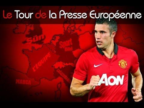Van Persie délivre Manchester, Seedorf vers la sortie... Le tour de la presse européenne !