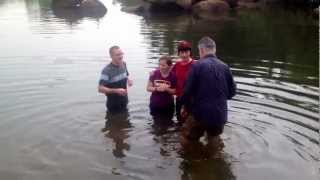 Baptizing Abby In The Nile River!
