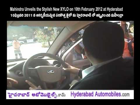 Mahindra Unveils the Stylish New XYLO on 10th February 2012 at Hyderabad
