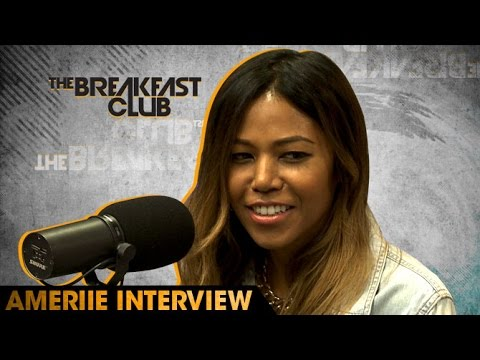 Ameriie Interview at The Breakfast Club Power 105.1 (05/19/2016)