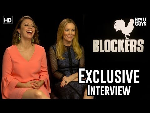 Leslie Mann & Director Kay Cannon On Finding The Right Tone With Blockers Exclusive Interview