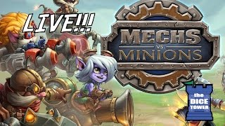 Dice Tower Live! Mechs vs. Minions
