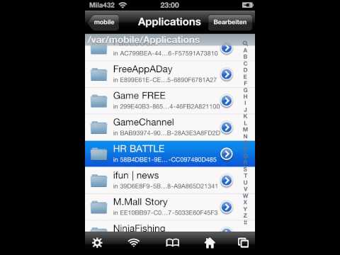 How to hack HOMERUN BATTLE 3D [ iPod ] [ iPhone ] [ iPad ] [ 1.6.1 ] iFile