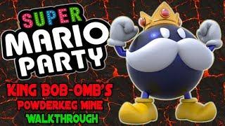 Super Mario Party Walkthrough Part 2 ★ King Bob omb's Powder keg Mine