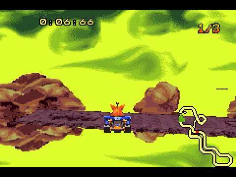 Crash Nitro Kart - Vizzed.com GamePlay - User video