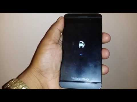 How to remove screen  password from blackberry z10