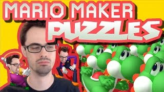 Mario Maker - Yoshi Execution Puzzle 😈 And More Great Puzzles by mrichston