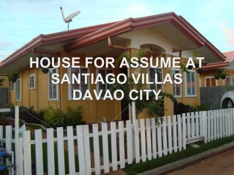 House for Assume at Santiago Villas, Davao City - House and Lot - 3 bedrooms
