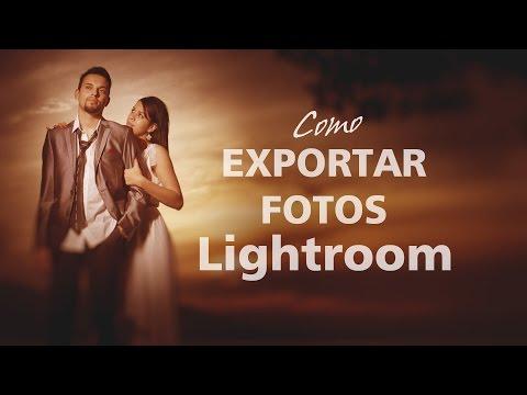 Exportar suas fotos Lightroom - Letra na Foto