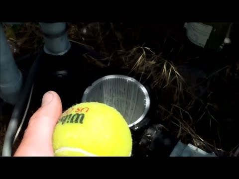 How To Empty Your Above Ground Pool Pump Basket- Pump Below Water Level