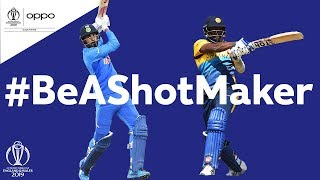 Oppo #BeAShotMaker | Sri Lanka v India - Shot of the Day | ICC Cricket World Cup 2019