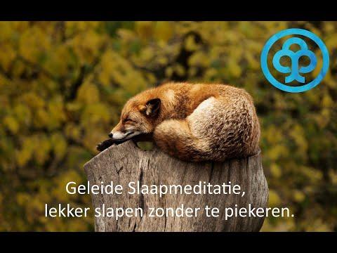 Geleide slaapmeditatie: Lekker diep slapen zonder te piekeren of wakker te liggen.