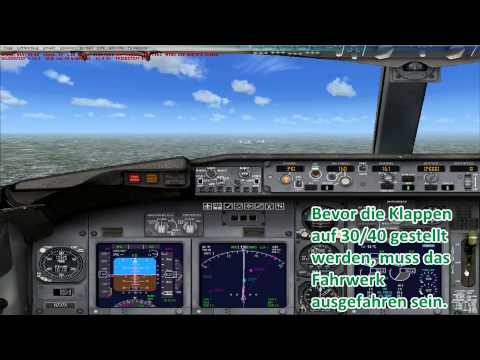 FSX - ILS / AUTOLAND TUTORIAL GERMAN (deutsch) - Landing 737 Cologne/Bonn