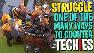 The Ultimate Struggle of Techies - DotA 2