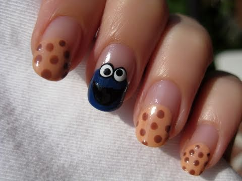 Cookie Monster Nails Music Videos