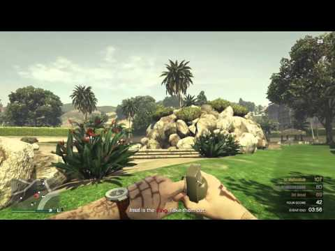 GTA5 - Drunk & Disorderly King Of The Hill