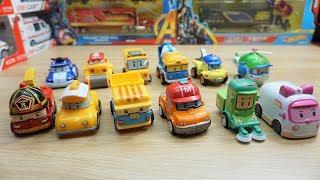 Robocar poli model car for kids Die cast toy cars review for children
