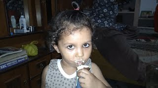 Ice cream lover yuvika - Don't mess up with her for Ice Cream